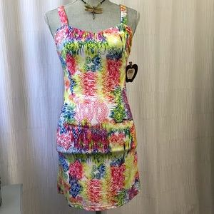 NWT Apple Bottoms Cute Party Dress Size Small